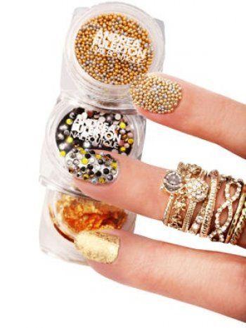 Nail Art : kit Ongles Haute Couture d'Andrea Fulerton