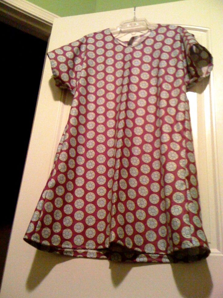 Lazy Girl Designs Free Hospital Gown Pattern
