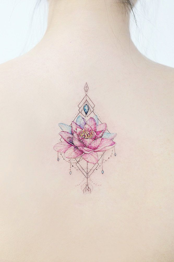 47 Best Lotus Flower Tattoo Ideas To Express Yourself – Katie Farrant – #Express…
