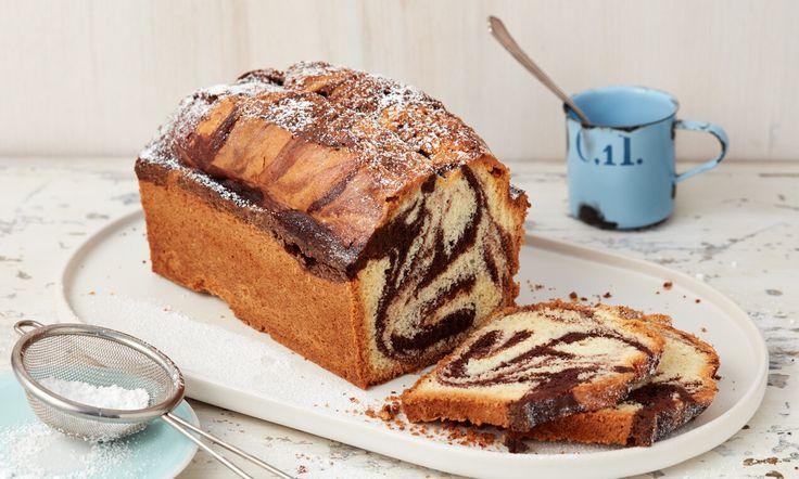 Marmorkuchen aus der Kastenform 25 x 11 cm   Rezept ...