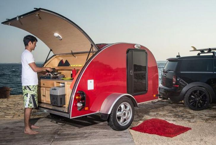 MINI luxury campers, Mini Clubvan Camper, MINI campers, MINI Cowley, MINI Countryman ALL4 Camp, camping, battery powered cars, plug-in cars, MINI Cooper, British car brands, sustainable camping