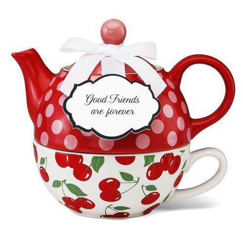 Pavilion Gift 49004 You and Me Tea for One Teapot Set by Jessie Steele Pavilion Gift Co.,http://www.amazon.com/dp/B0081QFIQ6/ref=cm_sw_r_pi_dp_fMKNsb1MSXJ2E74A