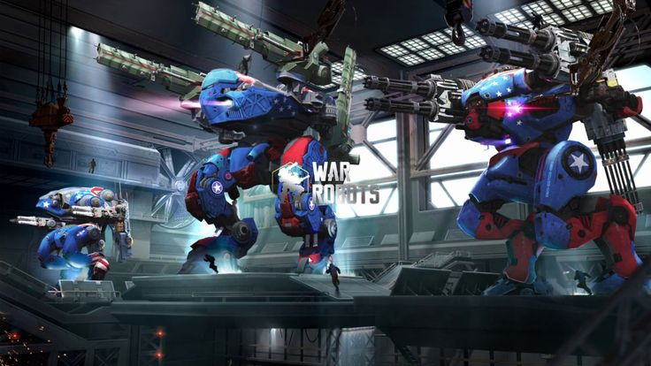 War Robots SHOOTER GAME play #5 - War Robots is a Free-to-play Third person Multiplayer Shooter Game playable on Facebook Gameroom and featuring dozens of combat robots hundreds of weapons combinations and heated clan battles