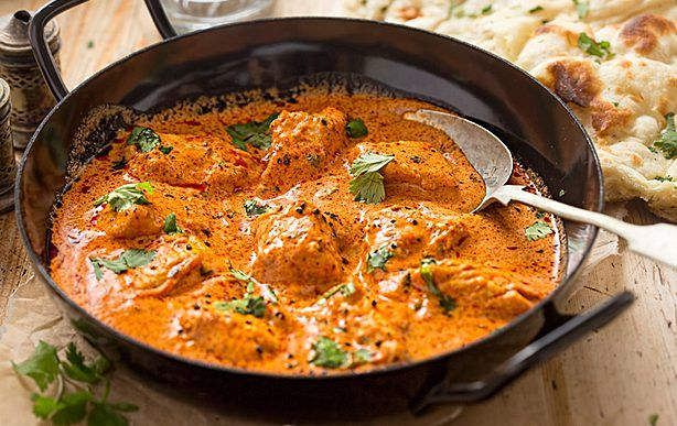 Gordon Ramsay's butter chicken recipe is so easy to make at home and tastes delicious too. It includes a butter chicken sauce and spice rub for the chicken.