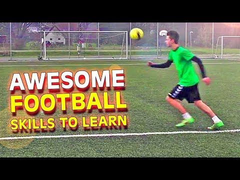 Learn 3 Amazing Football Soccer Skills Tutorial