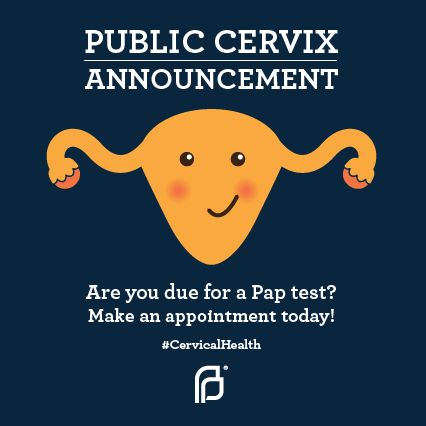 Is it time for a Pap test? A Pap test can find abnormal cells in the cervix before the cells become cancer.