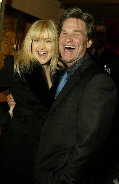 Kurt Russell and Kate Hudson