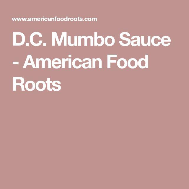 D.C. Mumbo Sauce - American Food Roots