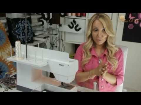 3 урок. Обучение искусству квилтинга. Как настроить швейную машину для п...