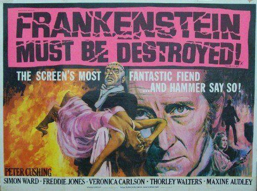 Hammer Horror Film Posters, 1955-1976.