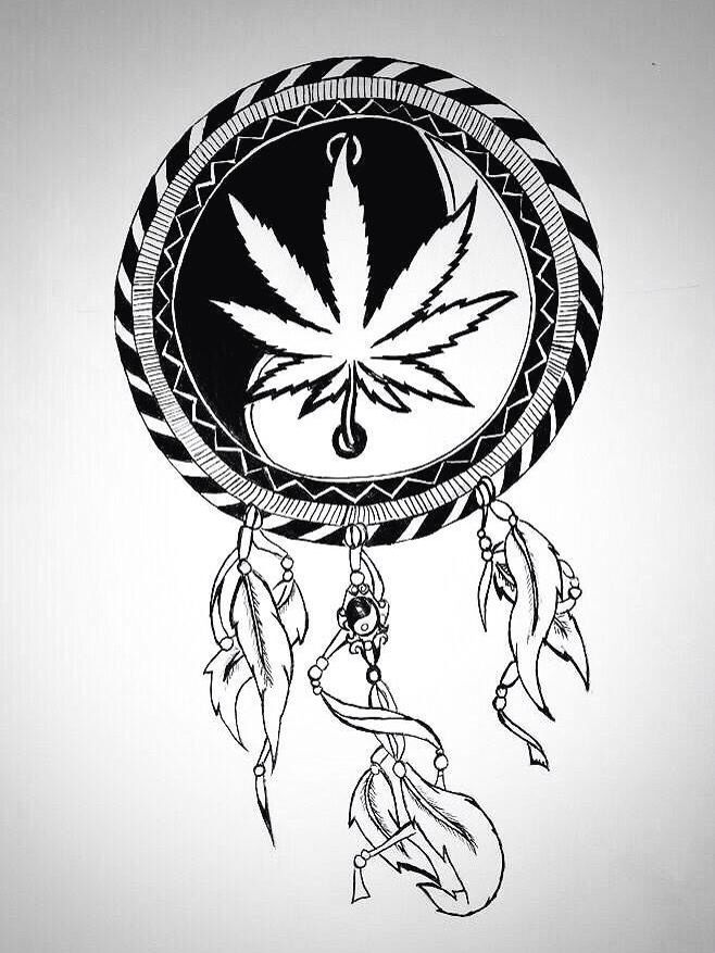 Tattoo please. Minus the pot leaf. Just YingYang | IWant ...