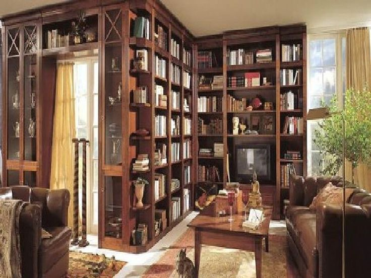 Fabulous 17 Best Ideas About Small Home Libraries On Pinterest Home Largest Home Design Picture Inspirations Pitcheantrous