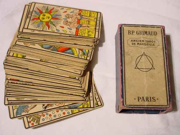 Crafted in the fashion of the traditional Tarot de Marseille, this 22-card deck…