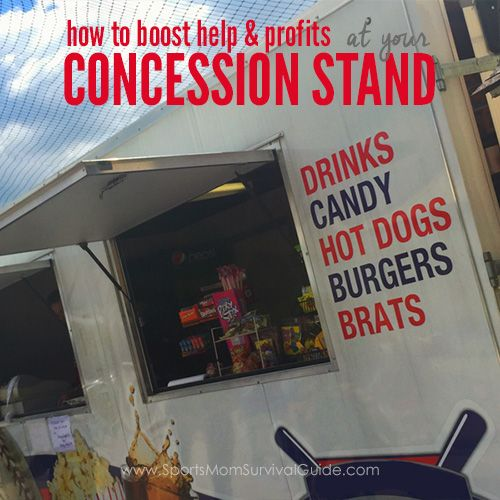 Organizing a Concession Stand | How to Boost Help & Profits