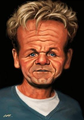 Gordon Ramsay - the Scotsman who can make Hagis a gourmet dish, and get the Queen to eat it!