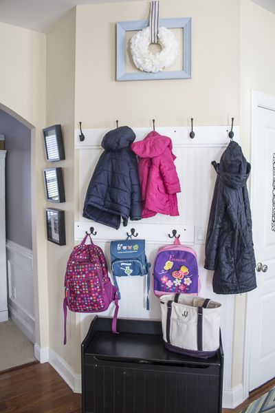Mud Area Makeover – An Organized Entryway