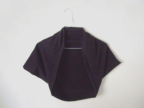 Black Bolero T-Shirt
