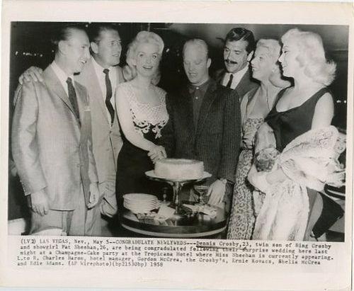 Dennis Crosby and Pat Sheehan Wedding Party (1958)   Flickr - Photo Sharing!