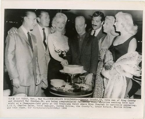 Dennis Crosby and Pat Sheehan Wedding Party (1958) | Flickr - Photo Sharing!