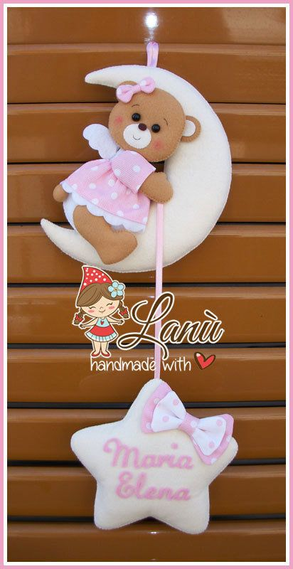 Annuncio nascita : Orsetta sulla luna, by Lanù, 30,00 € su misshobby.com