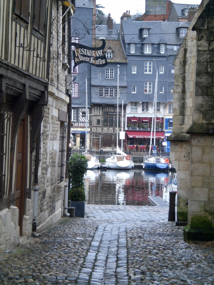 Honfleur, France... Long,leisurely,fresh seafood lunches..... :0)