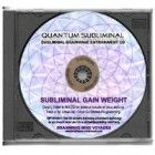 BMV Quantum Subliminal CD Gain Weight: Weight Gainer Mind Program (Ultrasonic Subliminal Series)
