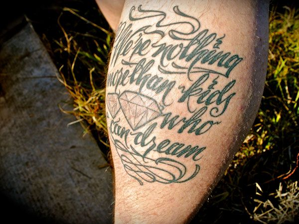 awesome 31 Precious Tattoo Quotes For Men
