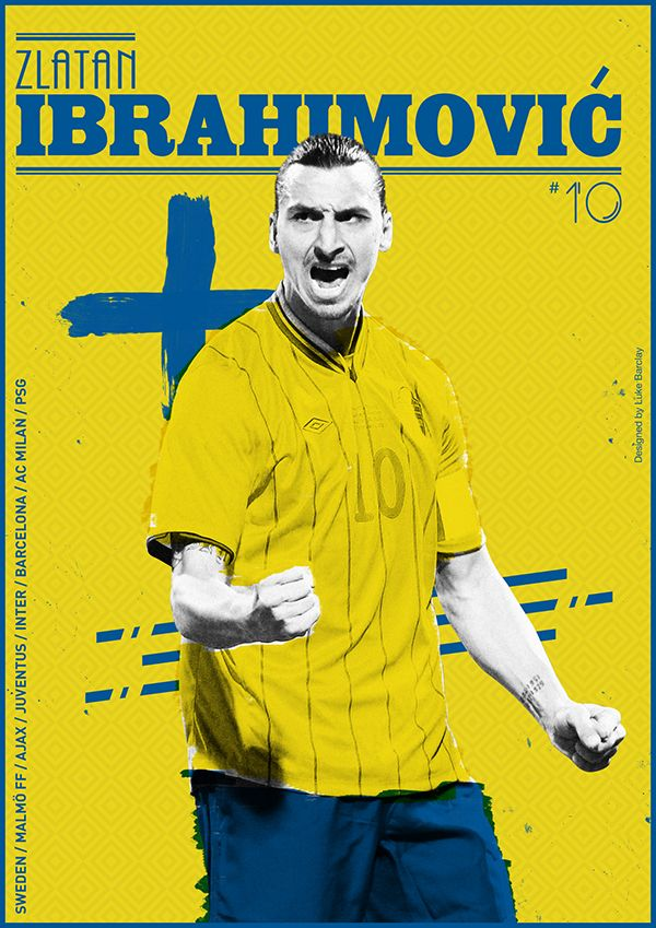 A Commemorative series of posters dedicated to past and present Football legends.