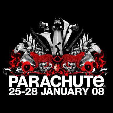 Parachute Music Festival Logo 2008. parachutemusic.com