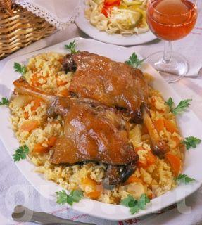Lajos Mari konyhája - Ludaskása libacombbal