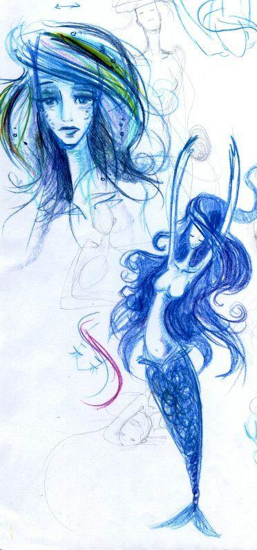 Illustration for Andersen: The Little Mermaid
