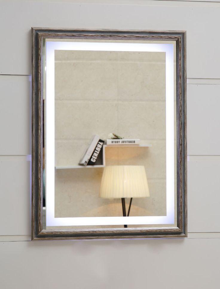 Die besten 25+ Badspiegel mit led beleuchtung Ideen auf Pinterest - r ckwand k che glas