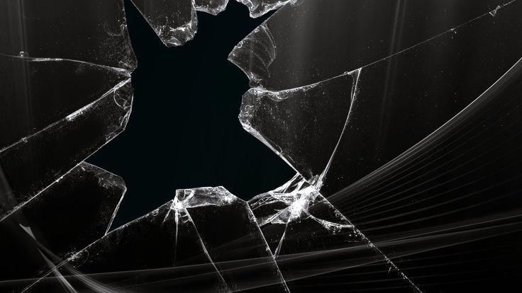 Broken Screen Apple Wallpaper Phone #WlB
