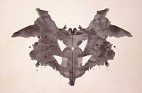 The Rorschach test  also known as the Rorschach inkblot test, the Rorschach technique, or simply the inkblot test) is a psychological test in which subjects perceptions of inkblots are recorded and then analyzed using psychological interpretation, complex algorithms, or both. Some psychologists use this test to examine a persons personality characteristics and emotional functioning.