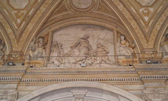 pasce oves meas 1633. Basilica di San Pietro