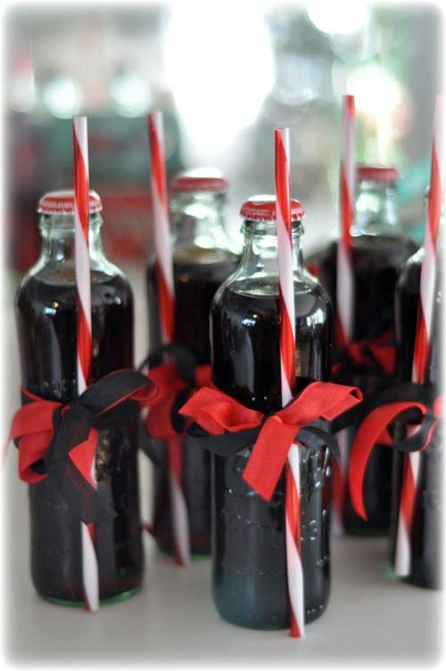 Coca Cola... this favorite will never change! I hated to open my vintage look bottles but I did... now the bottles will be vases and I might even cover the four pack carrier with old book pages!