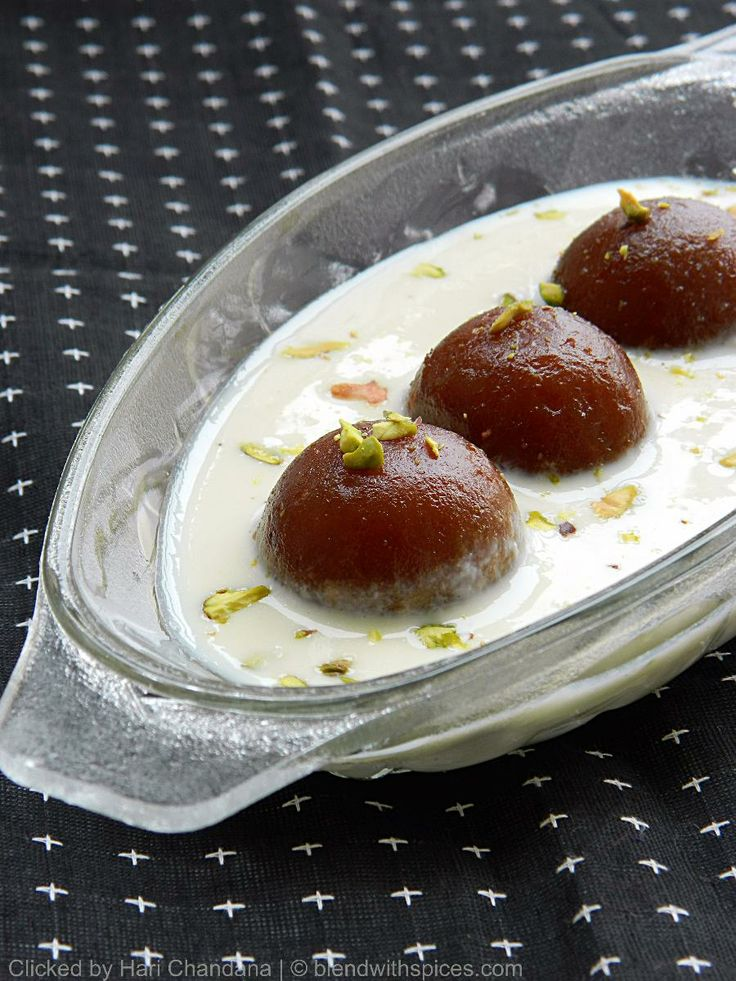 17 Best images about lndian Deserts... on Pinterest ... Gulab Jamun With Rabri