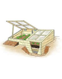 Cold Frame plans and usage