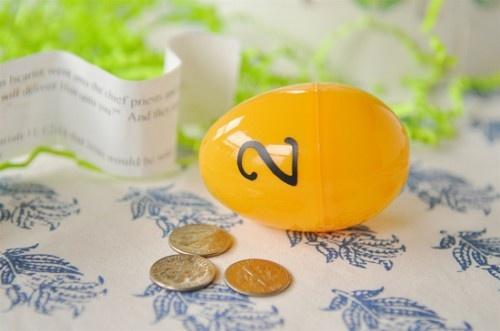 Easter Scripture Eggs.