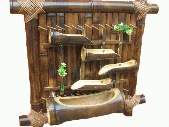jardim vertical bambu:1000 ideias sobre Cachepot De Madeira no Pinterest