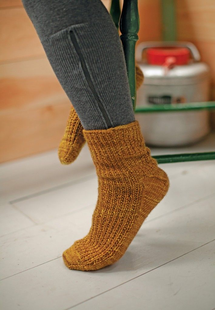 Toe Up Socks featured in Knitting from the Center Out by Daniel Yuhas | Photograph by Jody Rogac