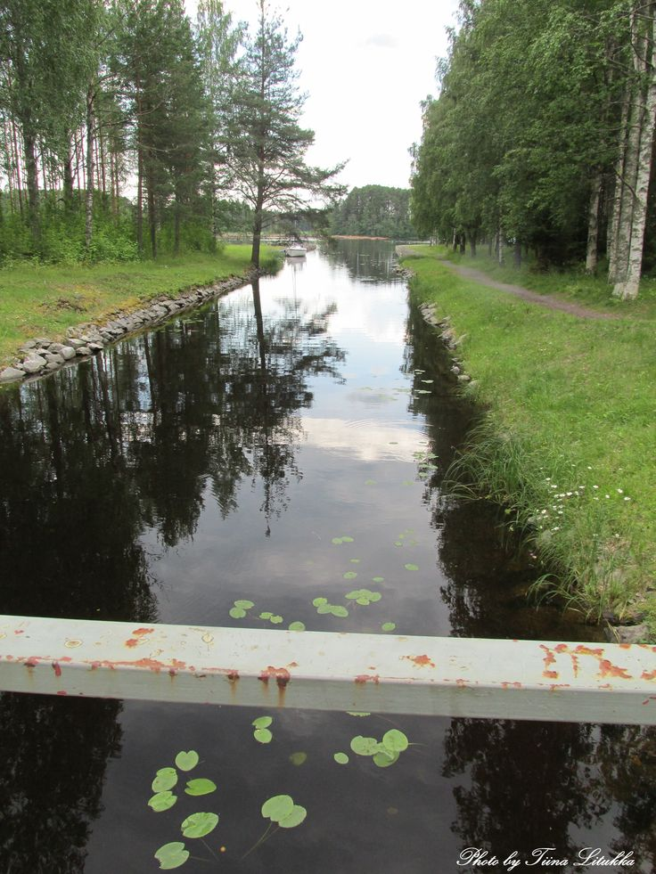 Taipale canal, Canal Museum, Varkaus, Finland