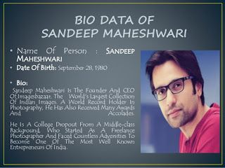 U SHOULD 9: An amaging  thoughts by Sandeep Maheshwari.....