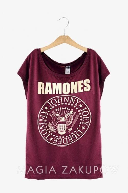 T-shirt Ramones - Magia Zakupów :: Top Fashion Boutique