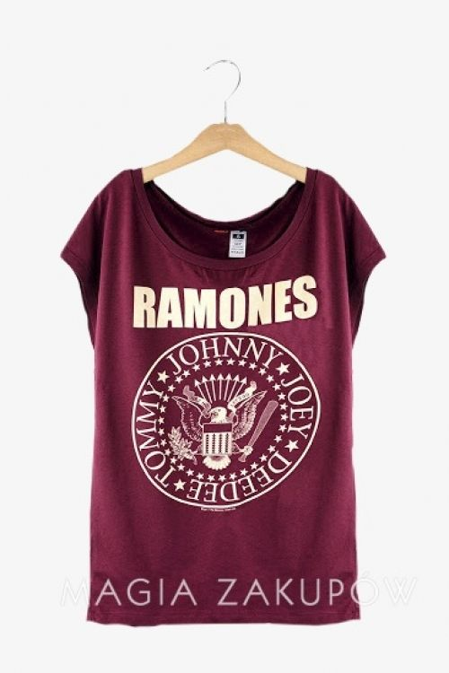 T-shirt Ramones - Magia Zakupów :: Top Fashion Boutique