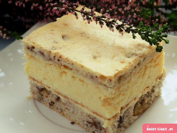 Ciasto serowo-orzechowe siostry Anastazji - Swiatciast.pl