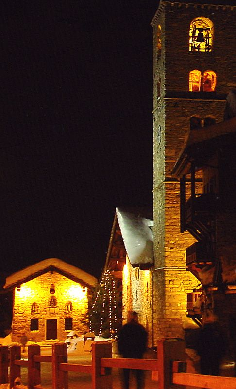 Val d'Isere Church, Val-d Isere, Rhone Alpes, France Copyright: Fred Lion