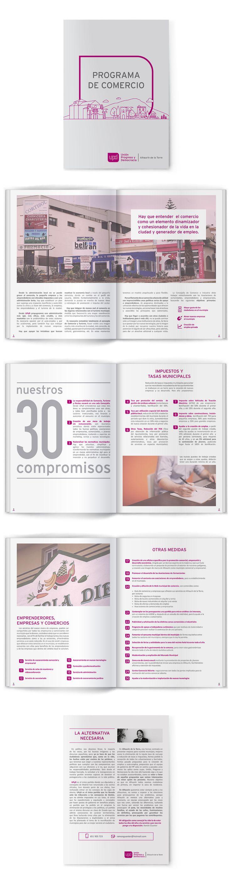Programa económico de UPyD en Alhaurín de la Torre (2015).