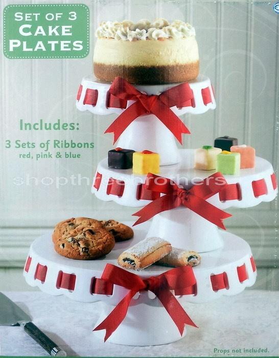 Cake Display Plates