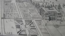 Dougharty plan of the garden c.1710